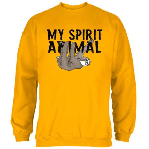 Sloth My Spirit Animal Mens Sweatshirt