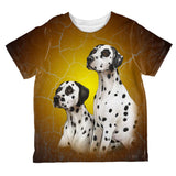 Dalmatians Live Forever All Over Toddler T Shirt