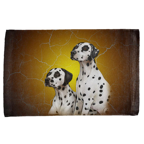 Dalmatians Live Forever All Over Hand Towel