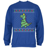 Big Tree Rex T Rex Ugly Christmas Sweater Mens Sweatshirt