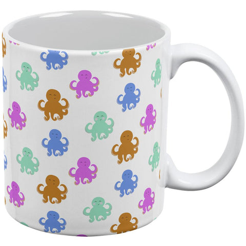 Cute Octopus Pattern All Over Coffee Mug