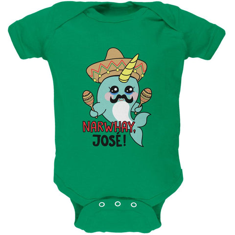 Narwhal Narwhay Jose Soft Baby One Piece