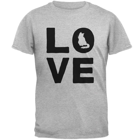 Cat Love Mens T Shirt