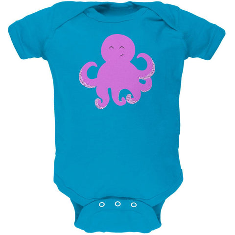 Cute Octopus Soft Baby One Piece