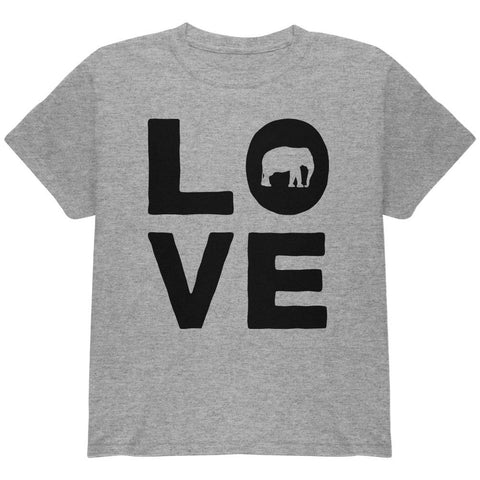 Elephant Love Youth T Shirt