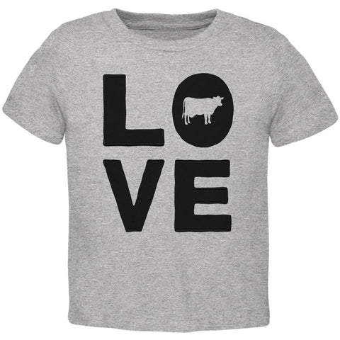 Cow Love Toddler T Shirt
