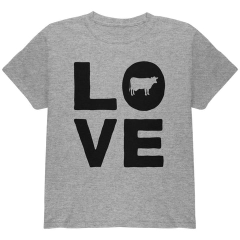 Cow Love Youth T Shirt