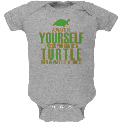 Always Be Yourself Turtle Soft Baby One Piece