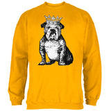 Bulldog Crown Mens Sweatshirt