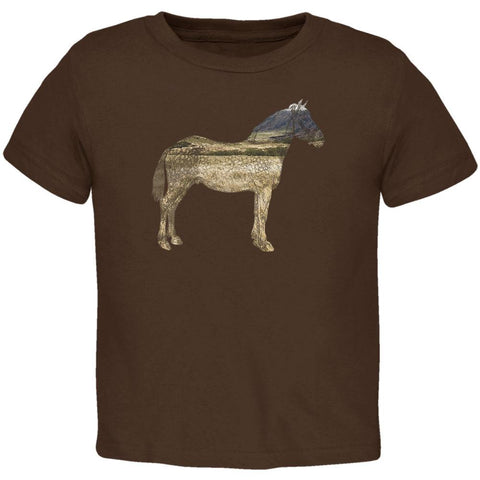 Horse Field Wild Mustang Toddler T Shirt