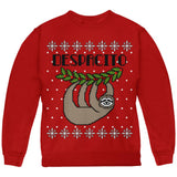Despacito Means Slowly Sloth Funny Ugly Christmas Sweater Youth Sweatshirt