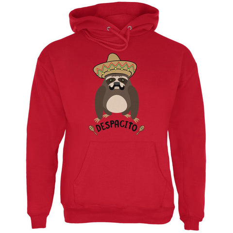 Despacito Means Slowly Funny Sloth Pun Mens Hoodie