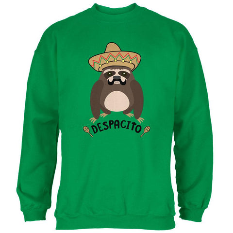 Despacito Means Slowly Funny Sloth Pun Mens Sweatshirt