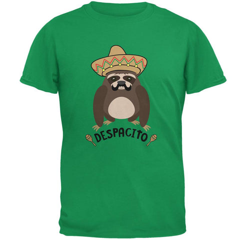 Despacito Means Slowly Funny Sloth Pun Mens T Shirt