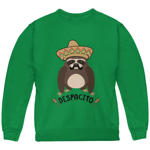 Despacito Means Slowly Funny Sloth Pun Youth Sweatshirt