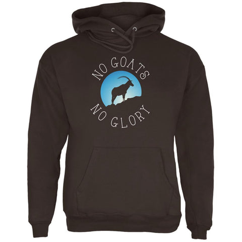 No Guts Goats No Glory Mens Hoodie