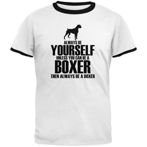 Always Be Yourself Boxer Mens Ringer T Shirt