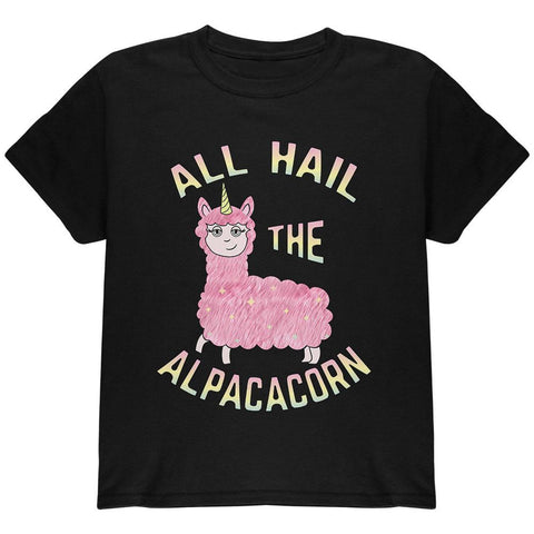 All Hail the Alpacacorn Youth T Shirt