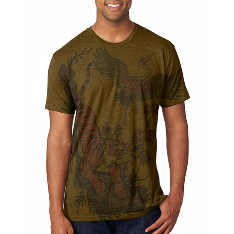 The Tiger and Crane Men's Soft T-Shirt