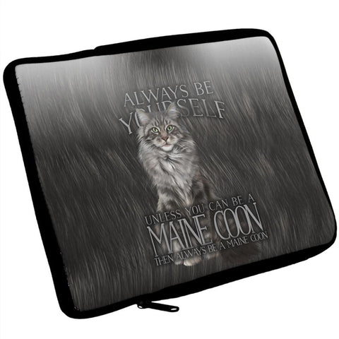 Always Be Yourself Unless Maine Coon Cat iPad Tablet Sleeve