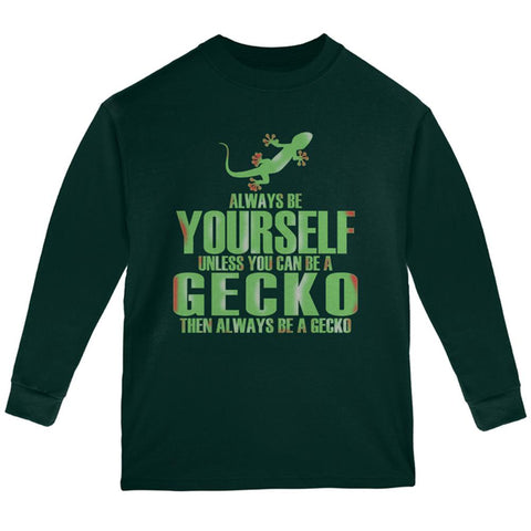 Always Be Yourself Gecko Youth Long Sleeve T Shirt
