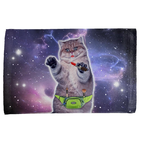 Makeup Cat Funny All Over Hand Towel