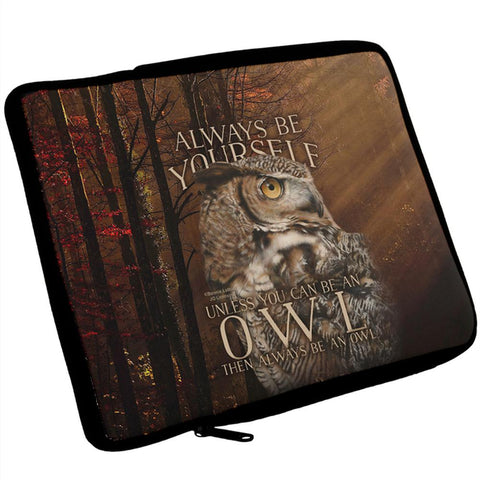 Always Be Yourself Unless Owl iPad Tablet Sleeve
