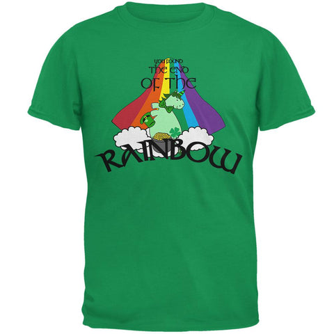 St. Patrick's Day Unicorn End Of The Rainbow Irish Mens T Shirt