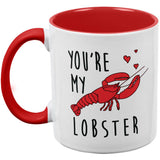 Valentine's Day - You're My Lobster All Over Coffee Mug