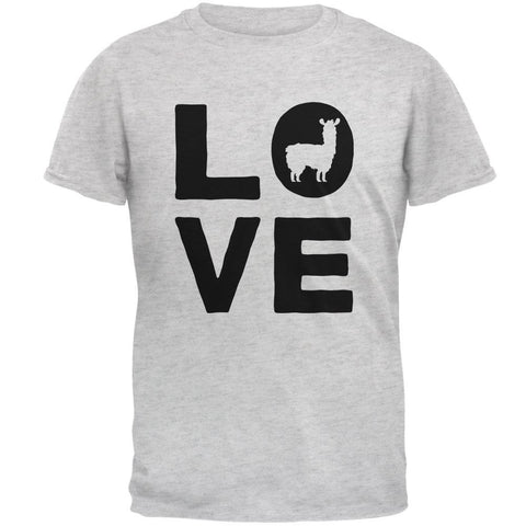 Llama Love Series Mens T Shirt
