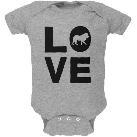 Lion Love Series Soft Baby One Piece