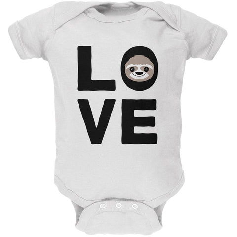 Sloth Love Series Soft Baby One Piece