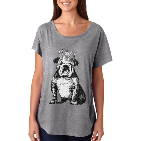Bulldog Crown Juniors Dolman T Shirt