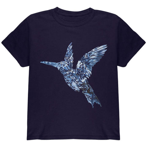 Easter Spring Flowers Hummingbird Youth T Shirt