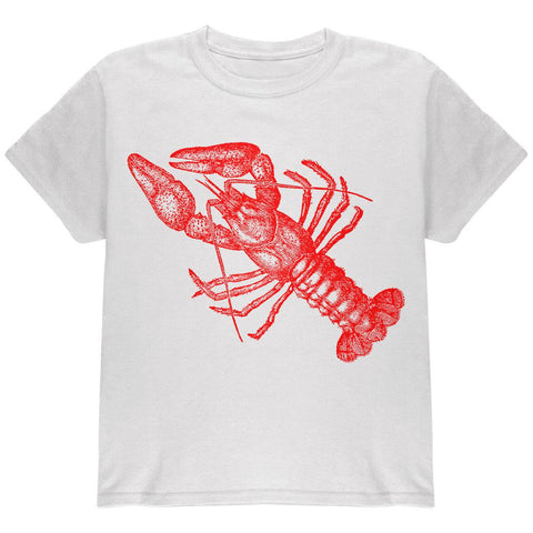 Lobster Crustacean Copperplate Youth T Shirt