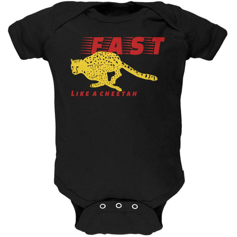 Fast Like A Cheetah Soft Baby One Piece