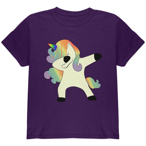 Dabbing Unicorn Youth T Shirt