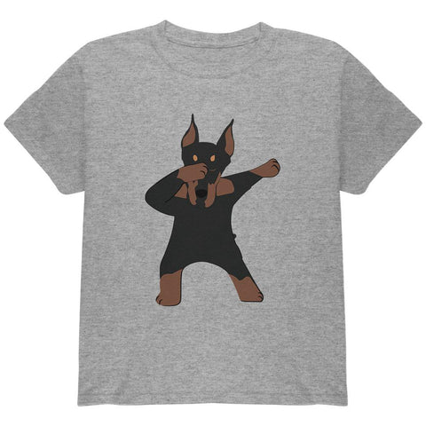 Dabbing Doberman Youth T Shirt