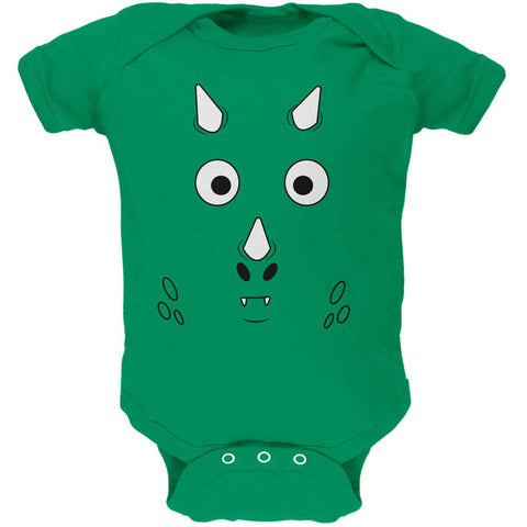 Cartoon Cute Dragon Face Soft Baby One Piece