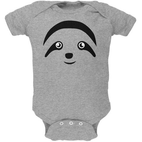 Cute Sloth Face Soft Baby One Piece
