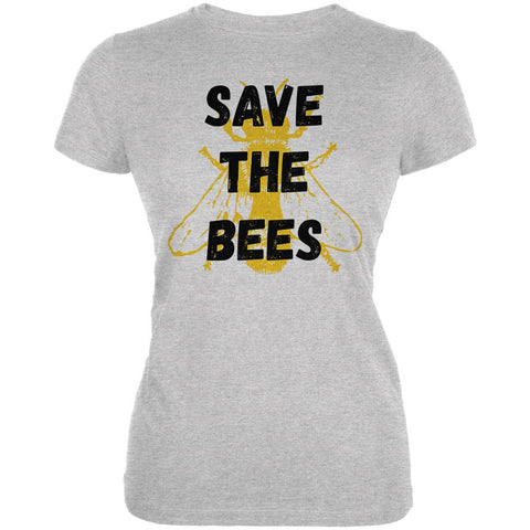 Honey Bee Save the Bees Juniors Soft T Shirt