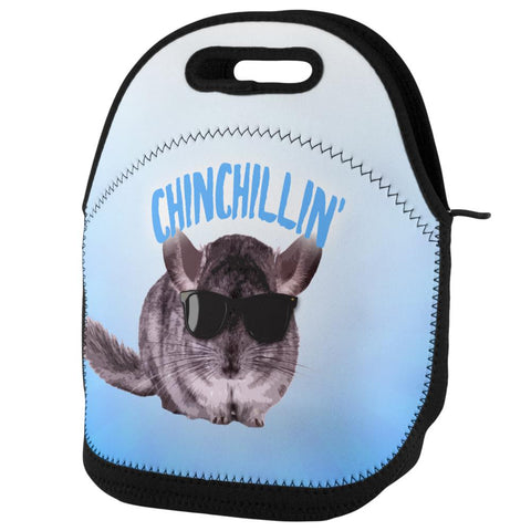Chinchillin Chinchilla Lunch Tote Bag