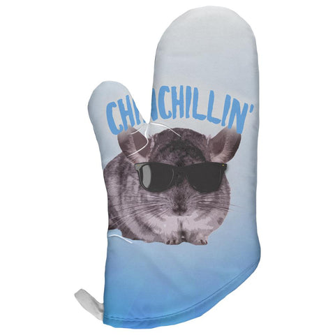 Chinchillin Chinchilla All Over Oven Mitt