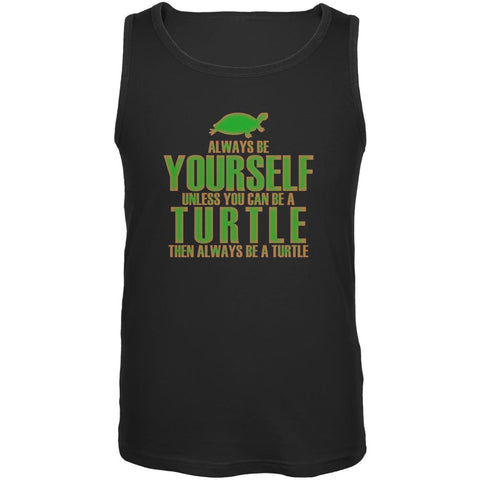 Always Be Yourself Turtle Mens Tank Top