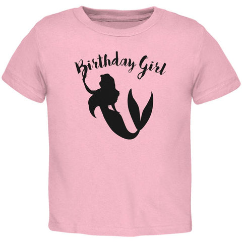 Birthday Girl Mermaid Toddler T Shirt