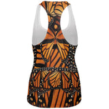 Monarch Butterfly All Over Womens Work Out Tank Top
