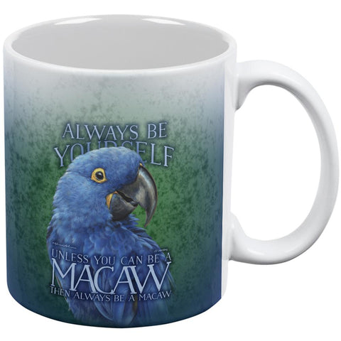 Always Be Yourself Unless Blue Hyacinth All Over Coffee Mug