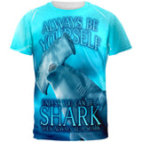 Always Be Yourself Unless Hammerhead Shark All Over Mens T Shirt