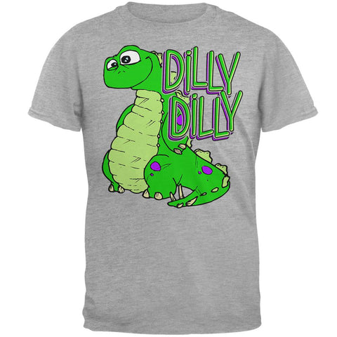 Dilly Dilly Dino Mens Soft T Shirt