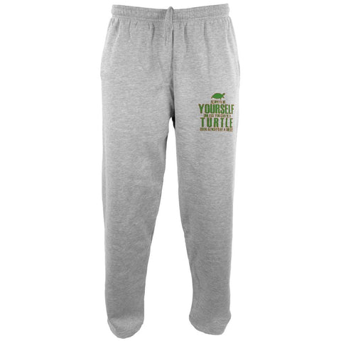 Always Be Yourself Turtle Mens Sweatpants